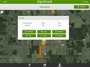 Application Agrascout, revisitée. Source: CropLife