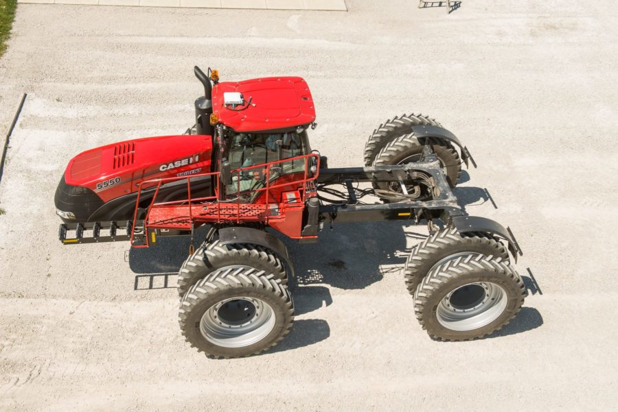 Nouvel applicateur de produits multiples de Case IH