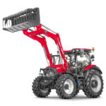 Voici un tracteur de la série Versum de Case IH.