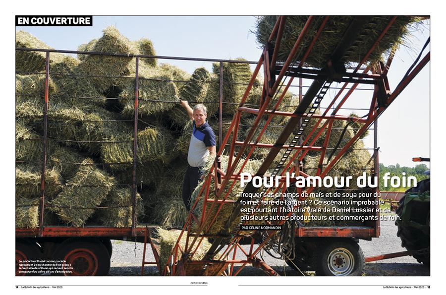 Le Bulletin des agriculteurs, mai 2020.