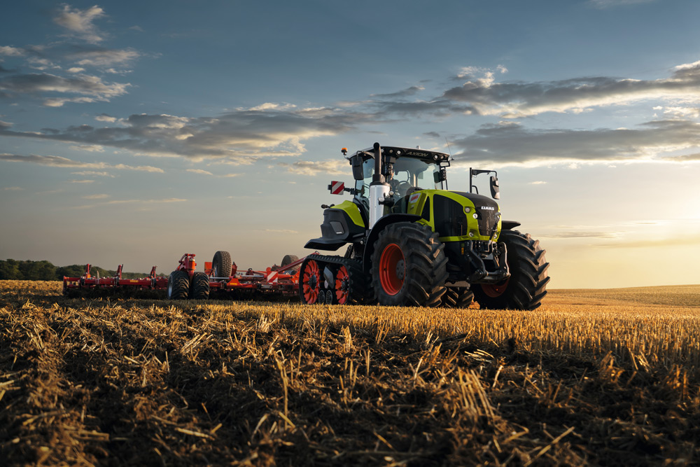 Gamme de tracteurs Axion 900 de Claas.